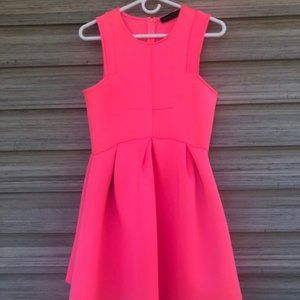 Hot Pink Party Dress.